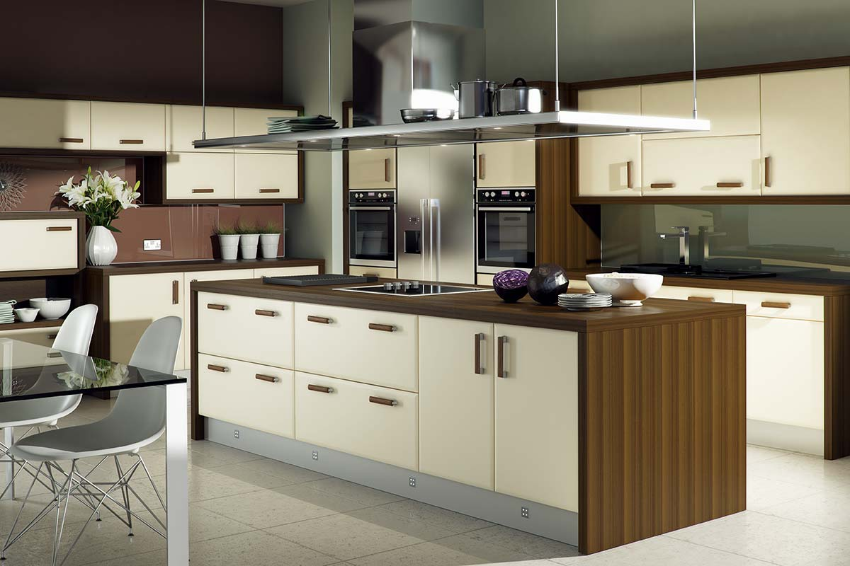 3D Solutions Hapton Ivory Kitchen