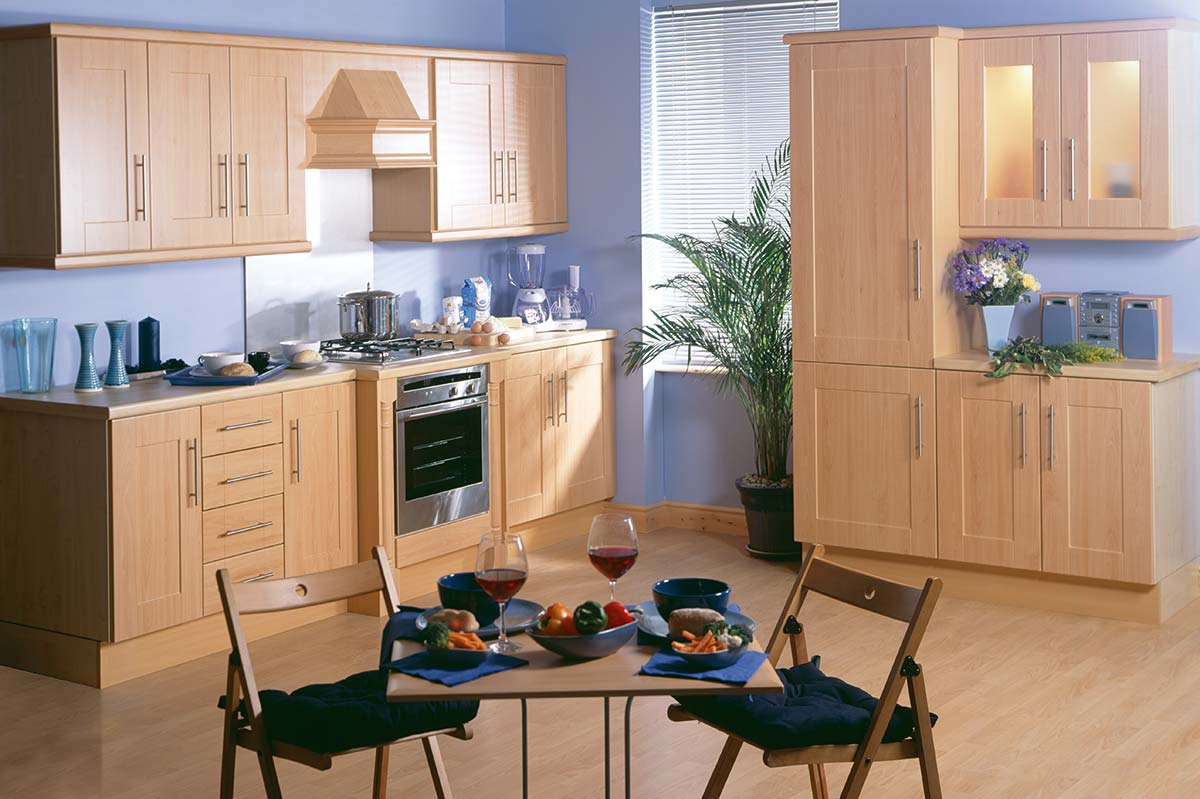 3D Solutions Kendal Beech Kitchen